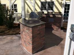 brick outdoor kitchen island in superior co022 u2013 hi tech appliance