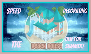 animal jam speed decorating the beach house den for summer youtube