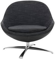 Boconcept Armchair Contemporary Armchair Fabric Leather Aluminum Veneto