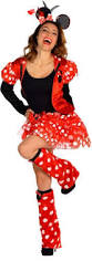 Halloween Costumes Party Girls Gold Graduation Balloon Weight Dancing Mice Minnie