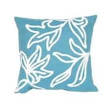 home decorators outdoor pillows aqua navy coral fan outdoor pillow home decorators exterior