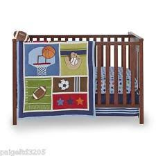 Monkey Crib Bedding Set by Sports Crib Bedding Ebay