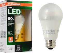 60w Led Light Bulb by Led Light Design Sylvania Led Light Bulbs Review Sylvania Led Can