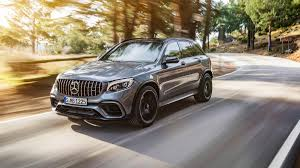 suv benz 2018 mercedes amg glc 63 suv and coupe debut before new york auto show