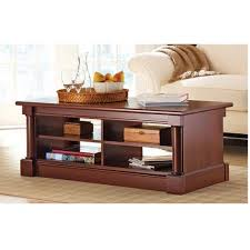 better homes and gardens coffee table better homes and gardens ashwood road coffee table cherry finish