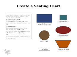 simple seating chart chart templates