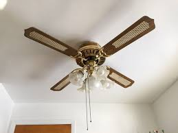 5 Light Ceiling Fan Upgrading An Outdated Fan With A Cool New Light 5 Light Ceiling