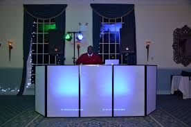 rent photo booth lighting package 3 ny rent led dj booth facade frontboard rental