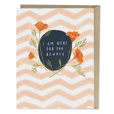 here for you always sympathy card emily mcdowell studio