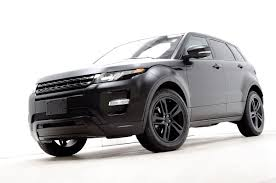 land rover evoque custom custom flat black 2012 range rover evoque dynamic
