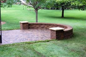 Raised Patio Pavers by Free Standing Retaining Walls Sitting Walls And Columns