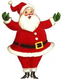 christmas santa claus vintage retro santa claus size santa vintage christmas and merry