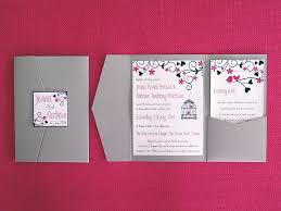 Pocketfold Invitations Gallery Passionate About Paper