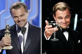 Leonardo Di Caprio Meme - leonardo dicaprio explains that awkward lady gaga golden globes