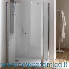 ferbox cabine doccia porta doccia anta fissa frontale anta a battente modello sirio