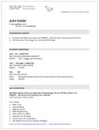 Resume For Sap Abap Fresher Why Cant I Focus And Do My Homework Homework Help Huntington Beach