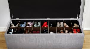 Entryway Shoe Rack Bench Storage Shoe Bench Appealing White Shoe Storage Bench