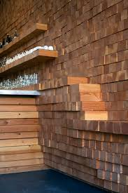 wood pieces for walls trendy inspiration stacked wood wall marvelous ideas up diy