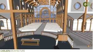 Traditional Design by 900 Seat Traditional Church Design By Carlson Architecture Youtube