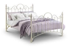 Metal Bed Frame Double Beds Mattresses Bedroom Furniture
