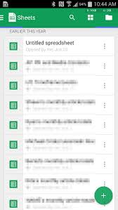 google sheets for android gets huge update with android l support