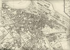 Edinburgh Map Map Of Edinburgh And Leith 1925 Maps Pinterest