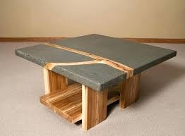 Cement Coffee Table Concrete Coffee Table Fetchmobile Co