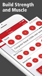 stronglifts 5x5 workout log on the app store