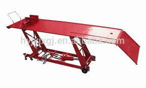 Motorcycle Lift Table by Air Atv Lift Table 800lbs 1000lbs Hydraulic Motorcycle Lift Buy