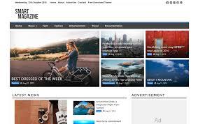 125 free responsive magazine wordpress themes 2018 css author