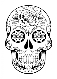 sugar skull free stock photo domain pictures