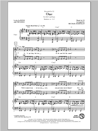 light a candle for peace lyrics one arr michael hartigan choral ssa sheet music by by u2 ssa
