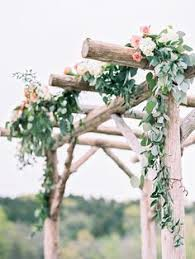 wedding arch rental johannesburg white birch wedding arch with eucalyptus and greens leaf