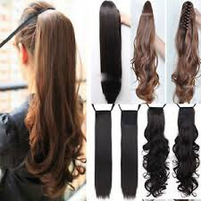 clip in hair extensions for hair clip in ponytail pony hair extension wrap on hair wavy