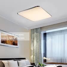 floureon 64w led dimmbar deckenleuchte wohnzimmer küche flur lampe