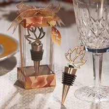 wine stopper wedding favors fall themed bottle stopper wedding favors 72 health