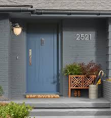 modern house door 6 modern house numbers rejuvenation