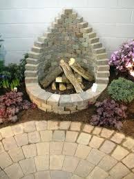 Brick Firepit Brick Pits Decorating Ideas Brick Pit Best Brick