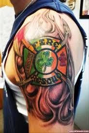 great firefighter tattoo design tattoo viewer com