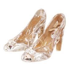 fashion simple nordic style cinderella glass slipper ornaments