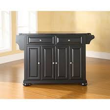 kitchen islands black solid black granite top kitchen island 10069272 hsn