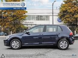 New 2017 Volkswagen Golf 4 Door Car In Vancouver Bc N010337