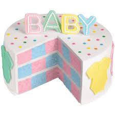 pink or blue a dream come true cake wilton