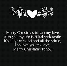 25 merry christmas love