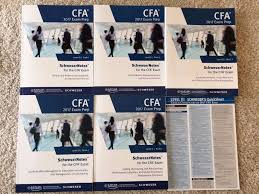 2017 cfa level 3 iii schweser notes mock exams quicksheet neu