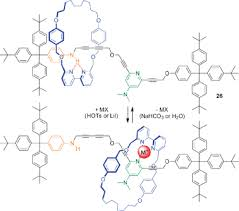 active metal template synthesis of rotaxanes catenanes and