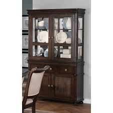 Black Dining Hutch Vignettes