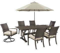 Outdoor Patio Dining Chairs Outdoor By Ashley Moresdale Patio Dining Set Ashley Furniture