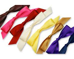 self adhesive ribbon self adhesive satin bows 5 8 w x 4 1 2 l purple lci paper