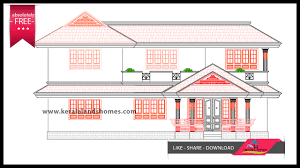 Home Elevation Design Free Download Download 2600 Sq Ft Traditional Design Home Plans Kerala Freereal